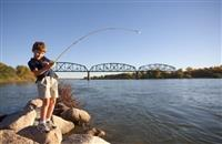 Fishing on the Missouri River